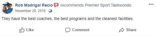 Teenadult2, Premier Sport Taekwondo