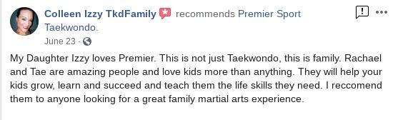 Screenshot 2020 08 18 At 9.11.37 AM, Premier Sport Taekwondo
