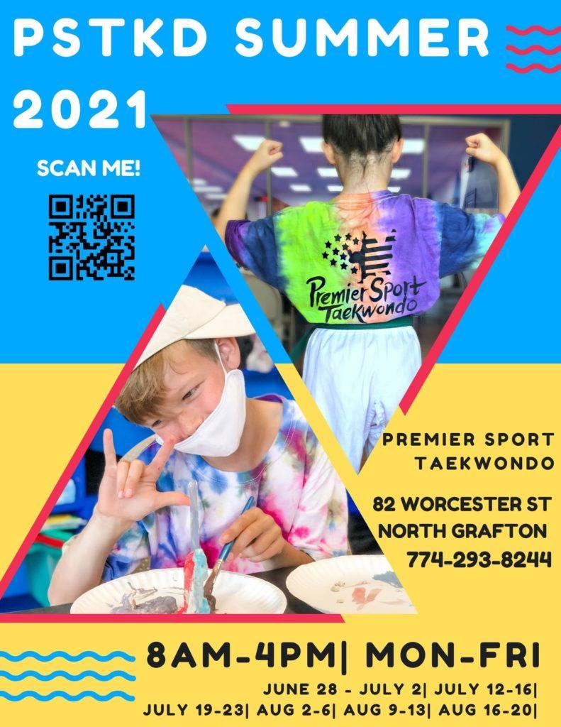 Summer 2021 Flyer 791x1024, Premier Sport Taekwondo