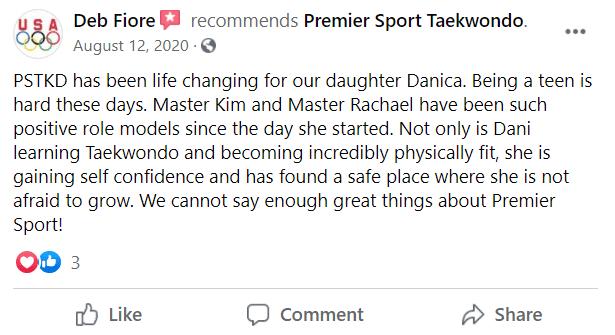 Fiore, Premier Sport Taekwondo